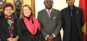 Embaixador Marcos Barrica recebe Delegado da CASA-CE
