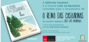 """Lançamento do livro """"O Reino das Casuarinas"""" de José Luís Mendonça, 22 de Julho"""