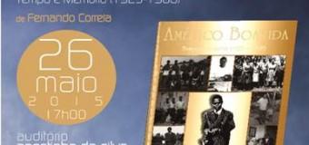 """Lançamento do livro """"Américo Boavida"""", de Fernando Correia, 26 de Maio"""