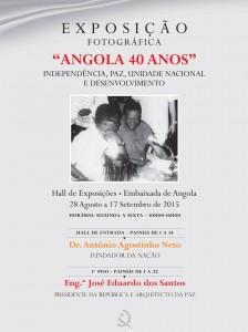 """EXPOSIÇÃO FOTOGRÁFICA """"ANGOLA 40 ANOS"""