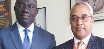 Adido Cultural recebe Visita de Cortesia do seu Homólogo da Costa do Marfim