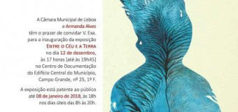 Inauguração da Exposição de Armanda Alves – 12 Dezembro