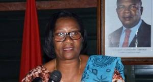 Victória da Conceição - Ministra da Acção Social FOTO: ARMANDO MORAIS