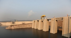 Albufeira da barragem hidroeléctrica do Laúca (arquivo) FOTO: PEDRO PARENTE