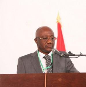 NAMIBE:MINISTRO DA ECONOMIA E PLANEMANTO NO ACTO DE ENCERRAMENTO DO FORUM SOBRE OPORTUNIDADES DE INVESTIMENTOS NON NAMIBE FOTO: OSVALDO SERAFIM