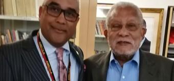 Adido Cultural recebe visita de cortesia do escritor angolano Jacques dos Santos