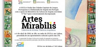 """Encerramento da Exposição """"Artes Mirabilis"""" – 4 Abril"""