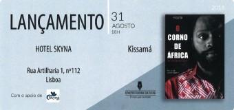 """Lançamento do livro """" O Corno de África"""" de Kissamá – 31 Agosto"""