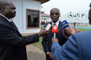 GHANA: VICE-PRESIDENTE DA REPÚBLICA, BORNITO DE SOUSA FOTO: ROSÁRIO DOS SANTOS