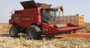 ié Máquina de colheita de milho no município do Kuemba FOTO: ROSÁRIO DOS SANTOS
