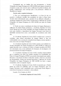 Declaração AAL2
