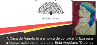 Exposição de Pintura de Ricardo Salanga – 9 Novembro