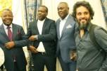 Membros da sociedade civil no Palácio Presidencial FOTO: FRANCISCO MIUDO