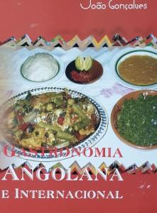 livro Gastronomia angolana e internacional