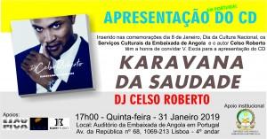 CONVITE CELSO ROBERTO KARAVANA DA SAUDADE