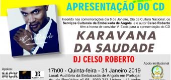 """Apresentação do CD """"Karavana da Saudade"""" do DJ Celso Roberto – 31 Janeiro"""