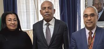 Visita de cortesia da Secretária de Estado da Cultura de Angola, Dra. Piedade de Jesus, à Embaixada de Angola em Portugal