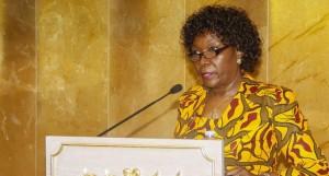 Presidente da 3ª Comissão da AN, Josefina Diakité (arquivo) FOTO: ALBERTO JULIÃO