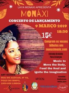 Concerto Lançamento Monaxi