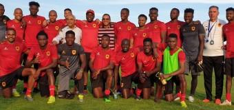 Adido Cultural despediu-se dos Palancas Negras rumo ao CAN 2019