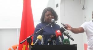 Ministra das Pescas e do Mar, Maria Antonieta Baptista FOTO: CLEMENTE DOS SANTOS