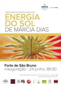 Exposição Márcia dias cartaz-energia-sol