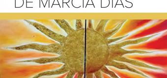 """Adido Cultural na inauguração da exposição individual """"Energia do Sol"""" de Márcia Dias"""