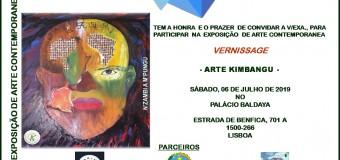 """Inauguração da Exposição """"Arte Kimbangu"""" – 6 Julho"""