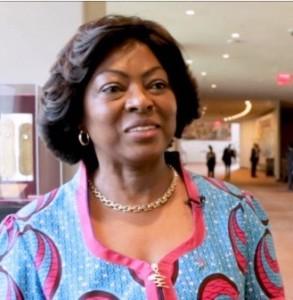 A primeira-dama de Angola, Ana Dias Lourenço Foto: UN