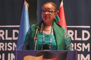 COMISSÁRIA DA UNIÃO AFRICANA PARA A ECONOMIA RURAL E AGRICULTURA, JOSEFA SACKO FOTO: NELSON MALAMBA