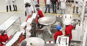 Operários da Fábrica de Massa Alimentar  FOTO: GASPAR DOS SANTOS