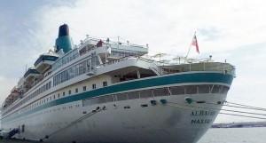 Navio de Cruzeiro Albatros FOTO: CEDIDA À ANGOP