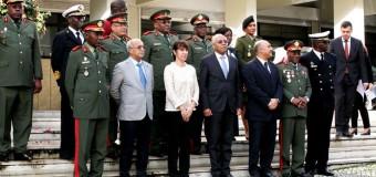 Ministro de Defesa destaca excelência da cooperação militar existente com Portugal