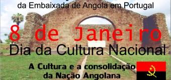 Dia Nacional da Cultura Angolana – 8 Janeiro