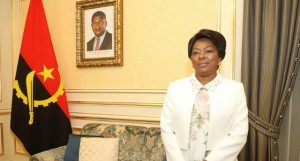 Ana Dias Lourenço - Primeira-Dama da República de Angola FOTO: CEDIDA