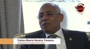 Embaixador de Angola em Portugal. S.Exa., Carlos Alberto Fonseca