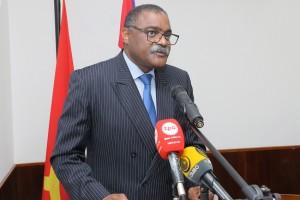 Secretário de Estado para a Cooperação Internacional e Comunidades Angolanas, Domingos Custódio Vieira Lopes Foto: António Escrivão