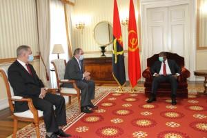 PR concede audiência ao ministro dos Negócios Estrangeiros da Argélia Foto: Francisco Miúdo