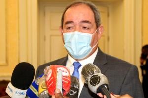 Sabri Boukadoum, ministro dos Negócios Estrangeiros da Argélia Foto: Francisco Miúdo