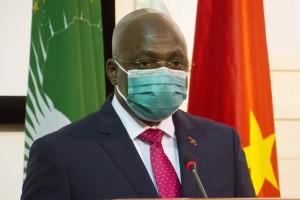 Ministro das Relações Exteriores, Téte António  Fotografia por: Nelson Malamba