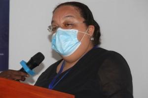 Teresa Dias, ministra da Administração Pública, Trabalho e Segurança Social  Foto: Ana Bela