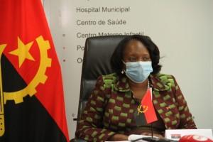 Ministra da Saúde, Sílvia Lutucuta  Foto: Clemente dos Santos