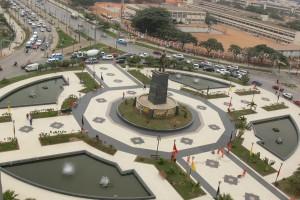 Largo da Independência em Luanda  Foto: Pedro Parente