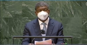 PR João Lourenço, discursa na 76ª Sessão da Assembleia Geral das Nações Unidas    Foto: Cortesia